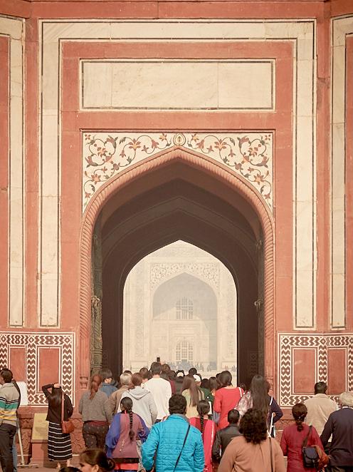 Taj Mahal 4 januari 2017 1